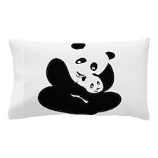 Panda Cuddles Pillow Case