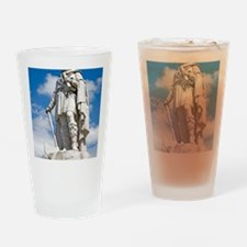 King Alfred the Great of England Drinking Glass