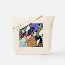 Kimberlite rock, light micrograph Tote Bag