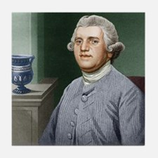 Josiah Wedgwood, British industrialis Tile Coaster