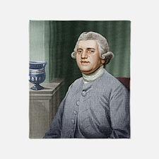 Josiah Wedgwood, British industriali Throw Blanket