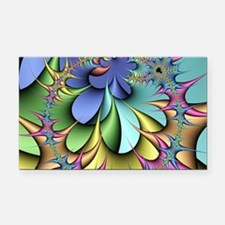 Julia fractal Rectangle Car Magnet