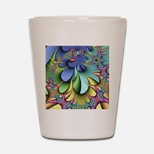 Julia fractal Shot Glass