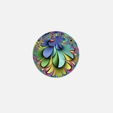 Julia fractal Mini Button