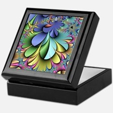 Julia fractal Keepsake Box