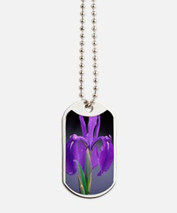 Japanese water iris (Iris laevigata) Dog Tags
