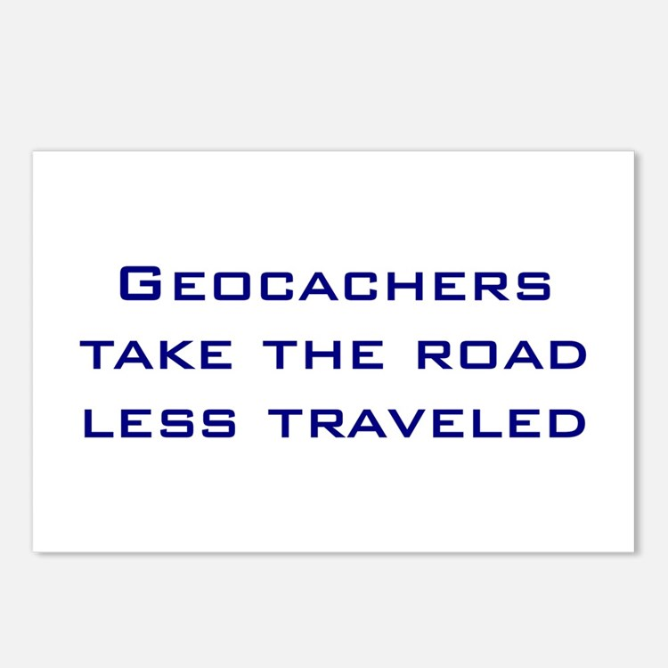 Geocachers Take the Road Postcards (Package of 8)