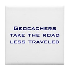 Geocachers Take the Road Tile Coaster