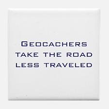 Geocachers Take the Road Tile Coaster
