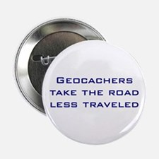 Geocachers Take the Road Button
