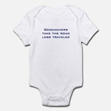 Geocachers Take the Road Infant Bodysuit