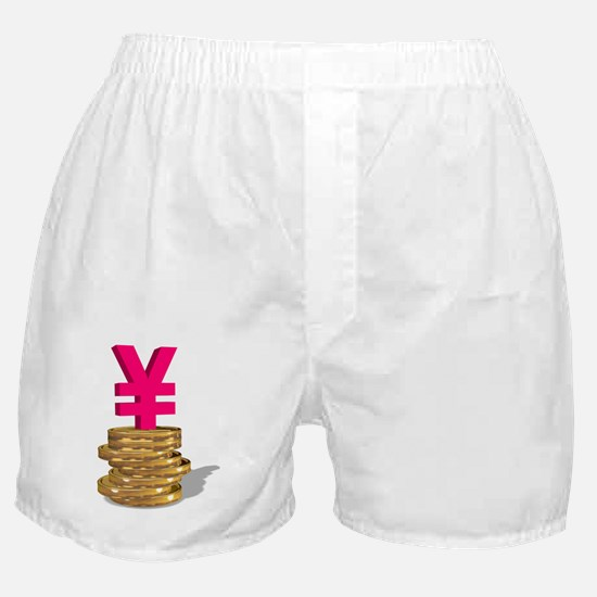 Japanese currency Boxer Shorts