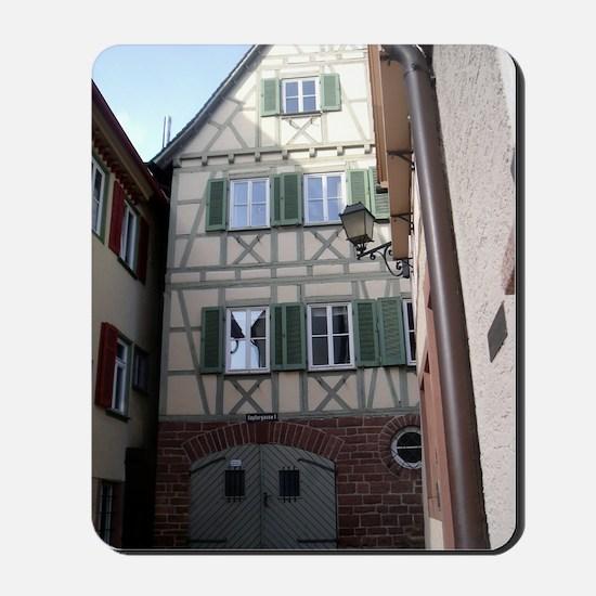 Johannes Kepler's birthplace Mousepad