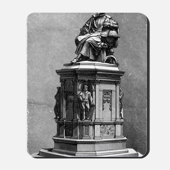 Johannes Kepler monument, artwork Mousepad