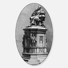 Johannes Kepler monument, artwork Decal