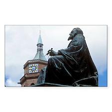 Johannes Kepler monument, Germ Decal