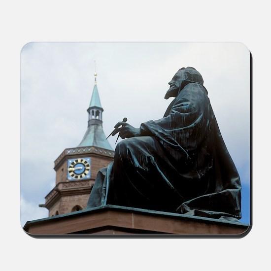 Johannes Kepler monument, Germany Mousepad