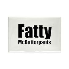 Fatty McButterpants Rectangle Magnet