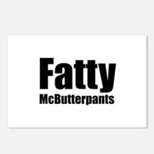 Fatty McButterpants Postcards (Package of 8)