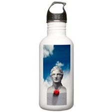 Issac Newton and the a Water Bottle