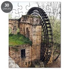Islamic waterwheel, Cordoba, Spain Puzzle