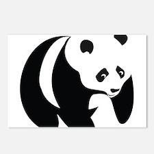 Panda-2 Postcards (Package of 8)
