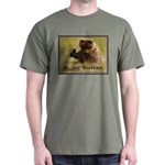 B..air guitar Military Green T-Shirt
