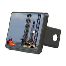 Jackup oil drilling rig, N Hitch Cover
