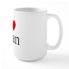 """""""I Love (Heart) Alan"""" Mug"""