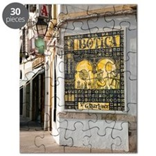 Islamic pharmacy ceramic tiles, Spain Puzzle