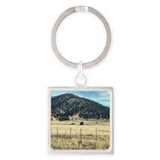 country living Square Keychain