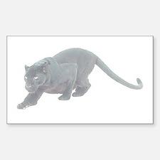 Black Panthers Rectangle Decal