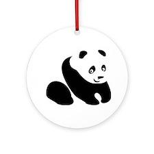 Panda-1 Ornament (Round)