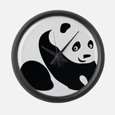 Panda-1 Large Wall Clock