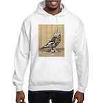 Brown Mottle West Hooded Sweatshirt