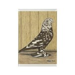 Brown Mottle West Rectangle Magnet (100 pack)
