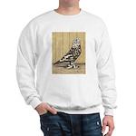 Brown Mottle West Sweatshirt