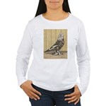 Brown Mottle West Women's Long Sleeve T-Shirt