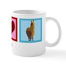Peace Love Alpaca Mug