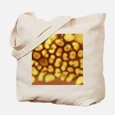 Influenza A virus particles, TEM Tote Bag