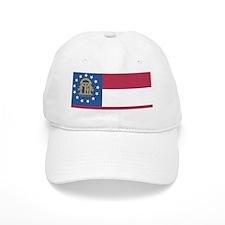 Georgia State Flag Baseball Cap