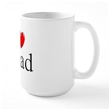 """I Love (Heart) Chad"" Mug"