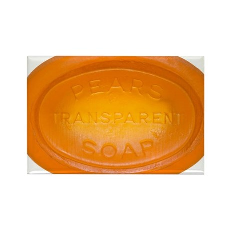 Hypo-allergenic soap Rectangle Magnet