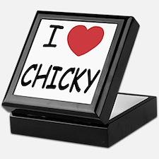 I heart CHICKY Keepsake Box