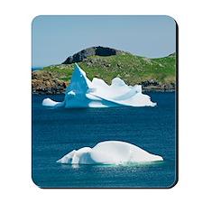 Icebergs, Canada Mousepad