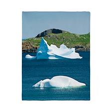 Icebergs, Canada Twin Duvet