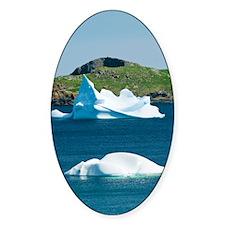 Icebergs, Canada Decal