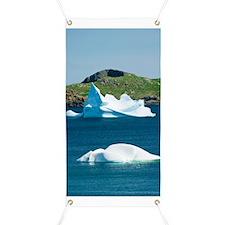 Icebergs, Canada Banner