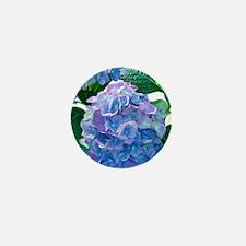 Hydrangea (Hydrangea macrophylla) Mini Button