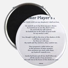 Poker Psalm Magnet